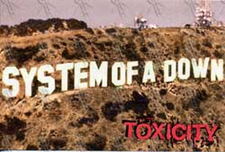 SYSTEM OF A DOWN - 'Toxicity' Postcard - 1