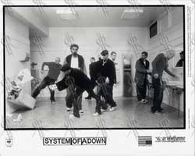 SYSTEM OF A DOWN - 'Toxicity' Promo Photo - 1