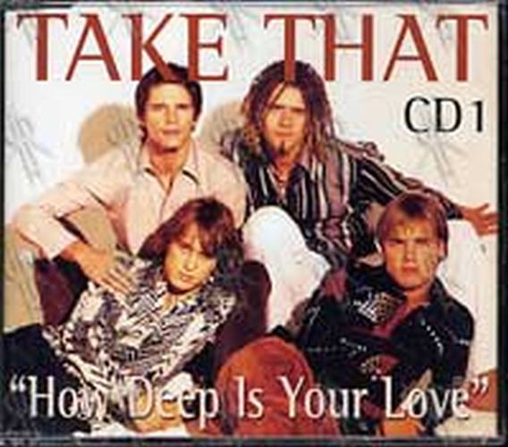 TAKE THAT - How Deep Is Your Love - 1