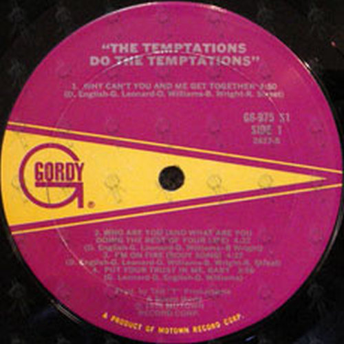 TEMPTATIONS-- THE - Do The Temptations - 3