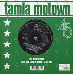 TEMPTATIONS-- THE - Papa Was A Rollin' Stone - 1
