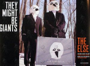 THEY MIGHT BE GIANTS - 'The Else' Album Promo Poster - 1