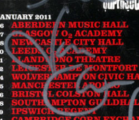 THIN LIZZY - January 2011 Fully Signed UK Tour Flyer - 6