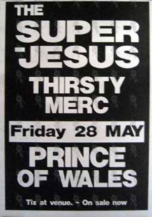 THIRSTY MERC|THE SUPERJESUS - 'Prince Of Wales