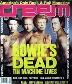 TIN MACHINE - 'Creem' - Special Issue 1991 - Tin Machine On The Cover - 1