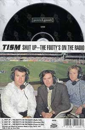 TISM - Shut Up - The Footy's On The Radio - 1