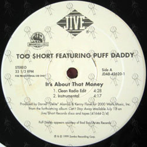 TOO SHORT - It's About That Money - 2