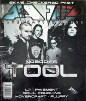 TOOL - 'Alternative Press' - March 1997 - Tool On Cover - 1