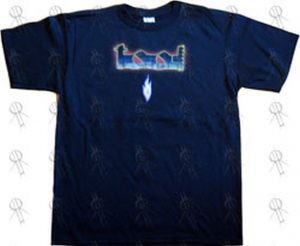 TOOL - Black 'Lateralus Colourful Eye' Design T-Shirt - 1