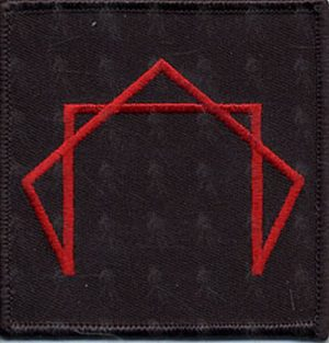 TOOL - Embroidered 'Pentagram' Logo Patch - 1
