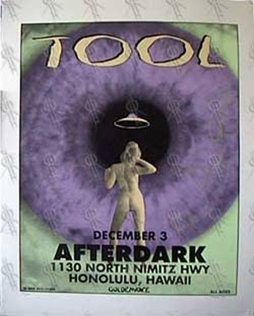 TOOL - Limited Edition Gig Poster - 1