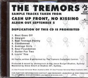 TREMORS-- THE - Cash Up Front