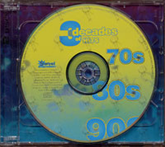 VARIOUS ARTISTS - 3 Decades Of Hits 70s 80s 90s - 4