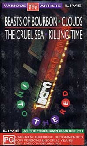 VARIOUS ARTISTS - Beasts Of Bourbon/Clouds/The Cruel Sea/Killing Time 'Into The Red' - 1