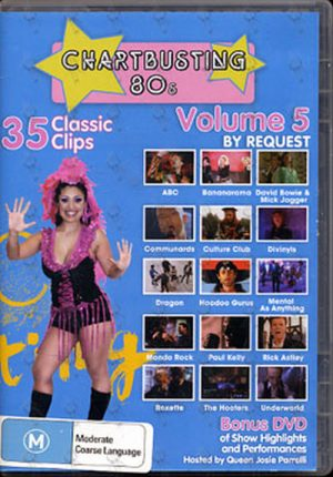 VARIOUS ARTISTS - Chartbusting 80's Volume 5 - 1