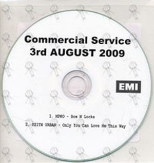 VARIOUS ARTISTS - Commercial Service - 3rd August 2009 - 1
