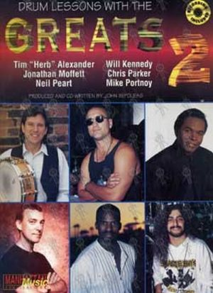 VARIOUS ARTISTS - Drum Lessons With The Greats 2 - 1