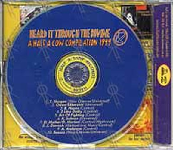 VARIOUS ARTISTS - Heard it Through The Bovine: A Half A Cow Compilation 1999 - 2