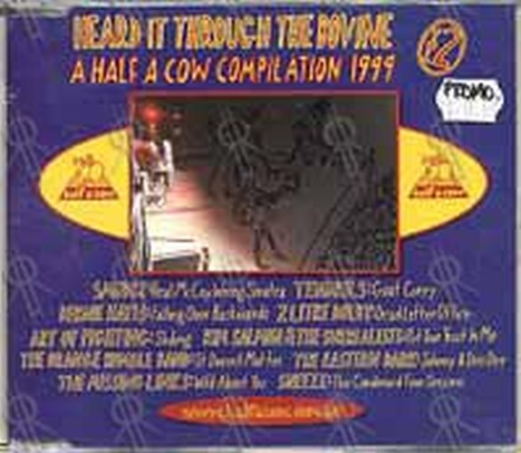 VARIOUS ARTISTS - Heard it Through The Bovine: A Half A Cow Compilation 1999 - 1