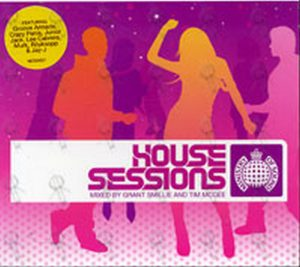 VARIOUS ARTISTS - House Sessions Mixed By Grant Smillie And Tim McGee - 1