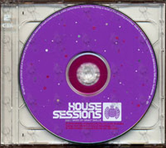 VARIOUS ARTISTS - House Sessions Mixed By Grant Smillie And Tim McGee - 5