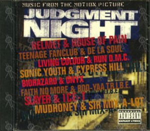 VARIOUS ARTISTS - Judgment Night - Music From The Motion Picture - 1