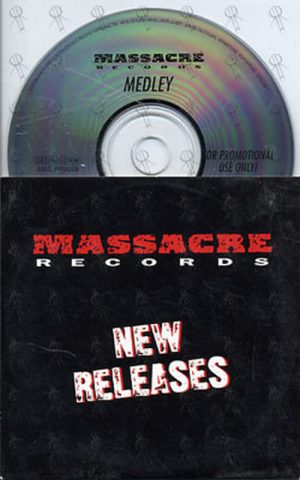 VARIOUS ARTISTS - Massacre Records New Releases - 1