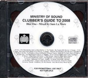 VARIOUS ARTISTS - Ministry Of Sound: Clubber's Guide To 2008 - 1