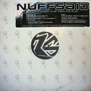 VARIOUS ARTISTS - Nuffsaid Beats From The Vaults Vol 2 - 1