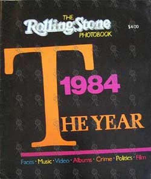 VARIOUS ARTISTS - 'Rolling Stone' - 1984 Yearbook - 1