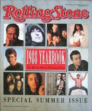 VARIOUS ARTISTS - 'Rolling Stone' - 1988 Yearbook - No. 426 - 1