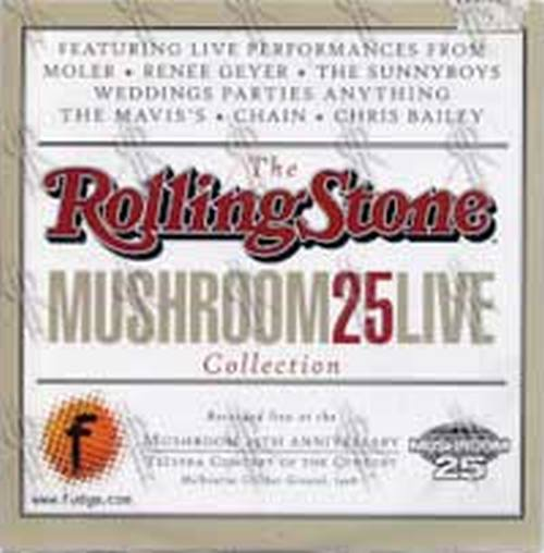 VARIOUS ARTISTS - Rolling Stone Mushroom 25 Live Collection - 1