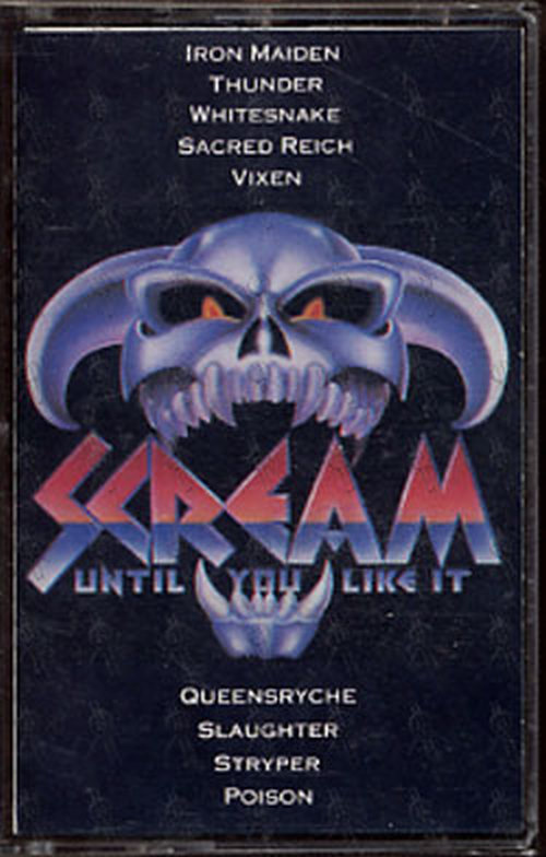 VARIOUS ARTISTS - Scream Until You Like It - 1