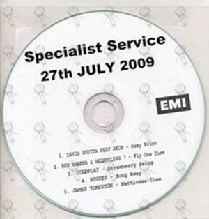 VARIOUS ARTISTS - Specialist Service - 27th July 2009 - 1