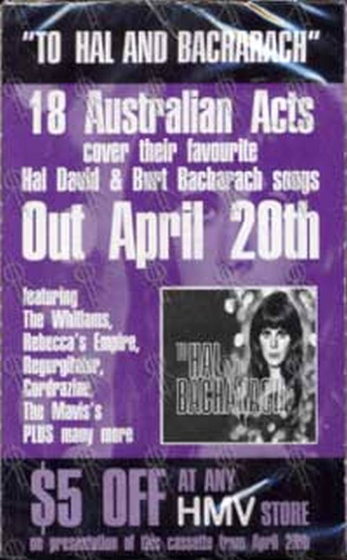 VARIOUS ARTISTS - To Hal And Bacharach - 1