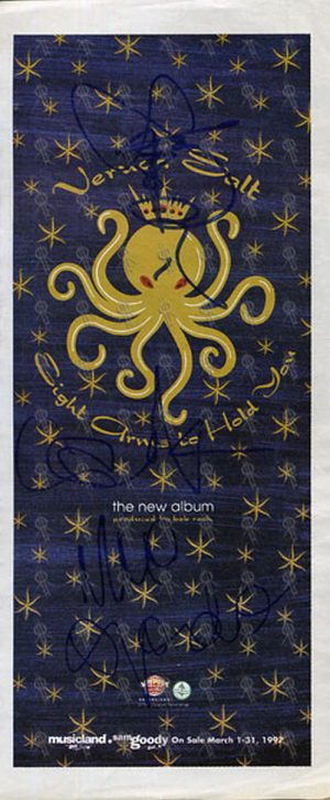 VERUCA SALT - 'Eight Arms To Hold You' Magazine Flyer - 1