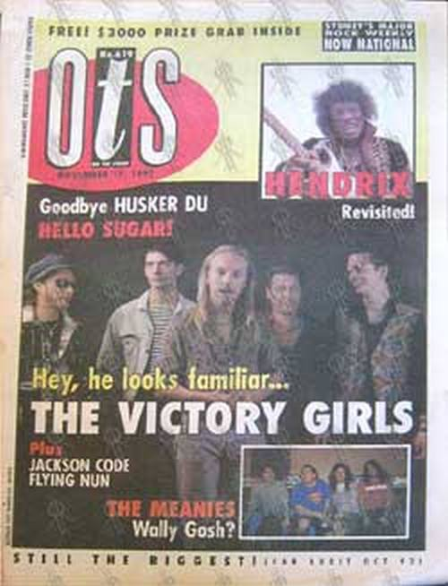VICTORY GIRLS-- THE - 'On The Street' - November 17th