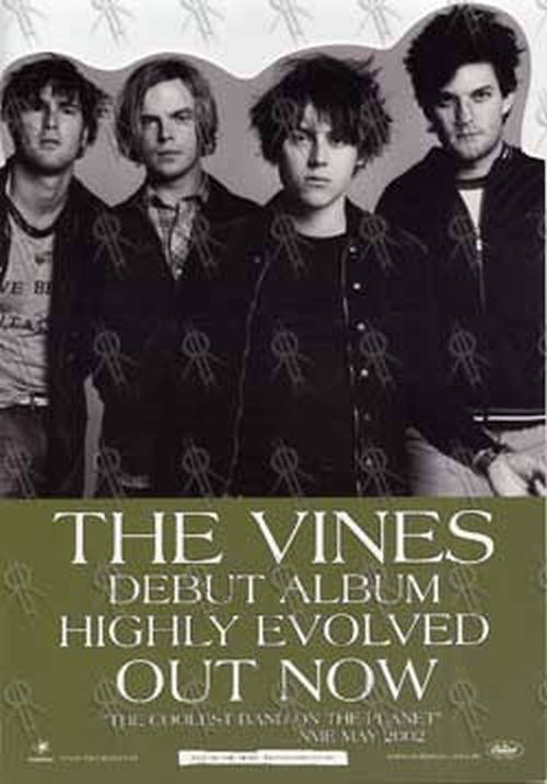 VINES-- THE - 'Highly Evolved' Counter Display - 1