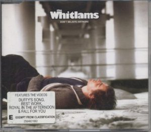 WHITLAMS-- THE - Don't Believe Anymore - 1