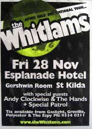 WHITLAMS-- THE - 'Gershwin Room