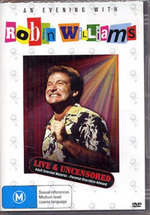 WILLIAMS-- ROBIN - An Evening With Robin Williams - 1