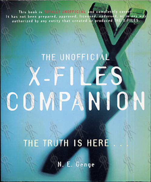 X-FILES-- THE - The Unofficial X-Files Companion - 1