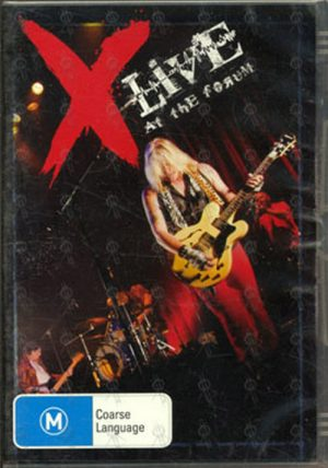 X - Live At The Forum - 1