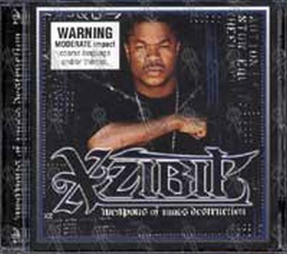 Xzibit Weapons Of Mass Destruction Album Cd Rare Records