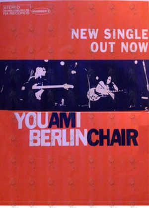 YOU AM I - 'Berlin Chair' Single Promo Poster - 1